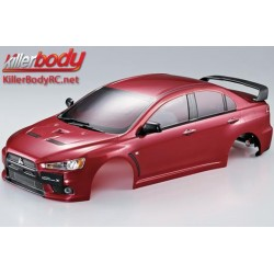 KBD48003 Carrosserie - 1/10 Touring / Drift - 190mm - Scale - Finie - Box - Mitsubishi Lancer Evolution X - Iron Oxide Rouge