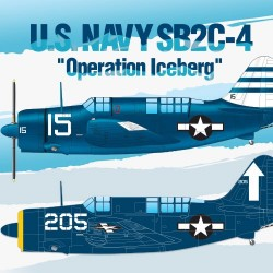 AC12545 US Navy SB2C-4 Öperation Icebe 1/72