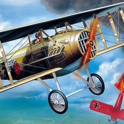 AC12446 SPAD XIII WW I FIGHTER 1/72