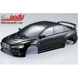 KBD48005 Carrosserie - 1/10 Touring / Drift - 190mm - Scale - Finie - Box - Mitsubishi Lancer Evolution X – Noir