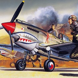 AC12456 (1655) CURTISS P-40B TOMAHAWK 1/72