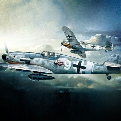 AC12467 MESSERCHIMITT BF109G 1/72