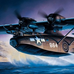 AC12487 PBY-5A BLACK CAT 1/72