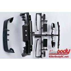 KBD48010 Pièces de carrosserie - 1/10 Touring / Drift - Scale - Accessoires d'injection pour Mitsubishi Lancer Evolution X