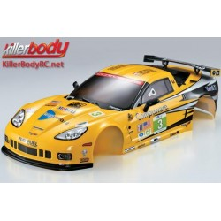 KBD48012 Carrosserie - 1/10 Touring / Drift - 190mm - Scale - Finie - Box - Corvette GT2 – Racing