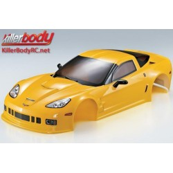 KBD48013 Carrosserie - 1/10 Touring / Drift - 190mm - Scale - Finie - Box - Corvette GT2 – Jaune