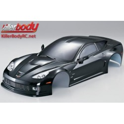 KBD48015 Carrosserie - 1/10 Touring / Drift - 190mm - Scale - Finie - Box - Corvette GT2 – Noir