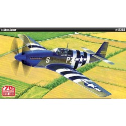 AC12303 P-51B Normandy Inv.Blue Nose 1/48