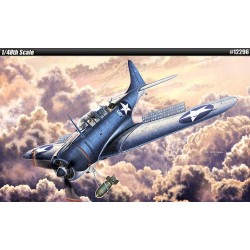 AC12296 ACADEMY - USN SBD-2 Midway 1/48