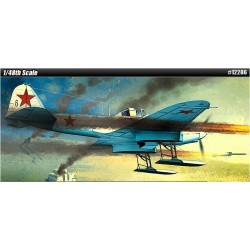 "AC12286 IL-2 STORMOVIK ""SKI EQUIPPED E 1/48"