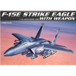 AC12264 F-15E EAGLE With BOMBS 1/48