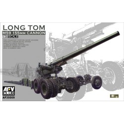 AF35009 AFV M59 155 mm CANON LONG TOM 1/35