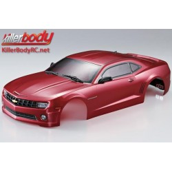 KBD48028 Carrosserie - 1/10 Touring / Drift - 190mm - Scale - Finie - Box - Camaro 2011 - Iron Oxide Rouge