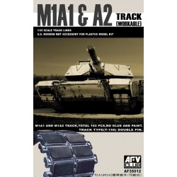 AF35012 AFV M1A1/2 BIG FOOT Tracks 1/35