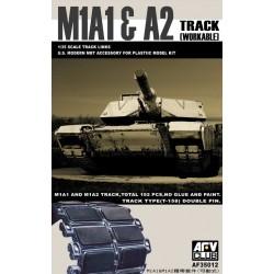AF35012 AFV M1A1/2 BIG FOOT Tracks 1/35