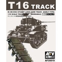 AF35019 AFV Tracks M3/M5 Rubber 1/35