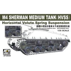 AF35030 AFV M4A3E8 HVSS Suspension 1/35