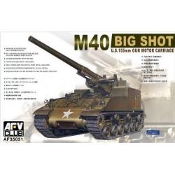 AF35031 AFV M-40 Self Propelled Gun 1/35