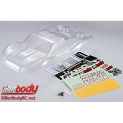 KBD48033 Carrosserie - 1/10 Short Course - Scale - Transparente - Monster - fits Traxxas / HPI / Associated Short Course Trucks