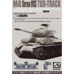 AF35032 AFV Tracks M 4 HVSS T 80 1/35