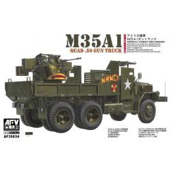 AF35034 AFV M35A1 Gun Truck 1/35