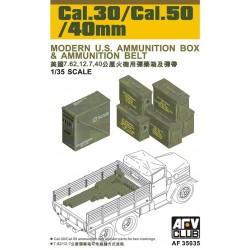 AF35035 AFV AMMO BOX Cal. 30/50/40mm 1/35