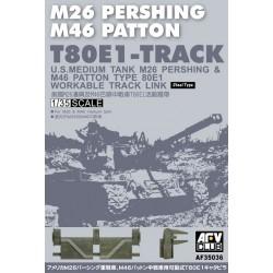 AF35036 AFV T80E1 Pershing Tracks 1/35