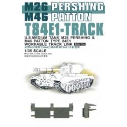 AF35037 AFV T84E1 Pershing Tracks 1/35