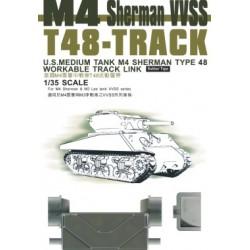 AF35038 AFV T48 Sherman Tracks 1/35