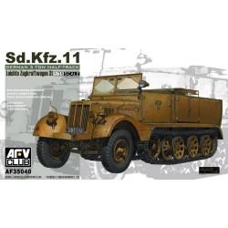 AF35040 AFV SDKFZ 11 3 ton half-truck 1/35