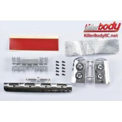 KBD48041 Pièces de carrosserie - 1/10 Short Course - Scale – Déflecteur