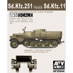 AF35044 AFV Tracks Sdkfz11/251 1/35