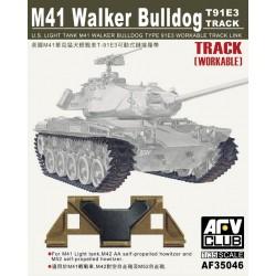 AF35046 AFV M41/42 Track (Articulated) 1/35