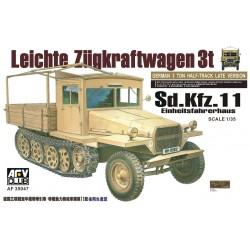 AF35047 AFV Sd.Kfz.11 Einheitsfahrhaus 1/35