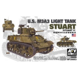 AF35053 AFV M3 A3 STUART 1/35