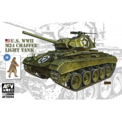 AF35054 WWII M24 Chaffee Light Tank 1/35