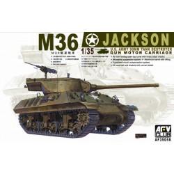 AF35058 AFV M36 Jackson US 90 mm Tank 1/35