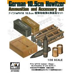 AF35062 AFV 10.5cm Howitzer Ammo & Acc 1/35