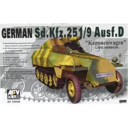 AF35068 AFV SDKFZ 251/9 AUSF D 1/35
