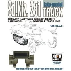 AF35069 AFV SDKFZ 251 Track Late Type 1/35