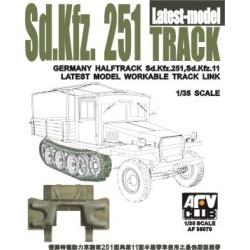 AF35070 AFV SDKFZ 251 Track Late Type 1/35