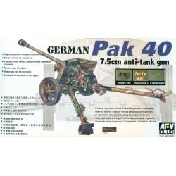 AF35071 AFV Pak 40 76mm Gun 1/35