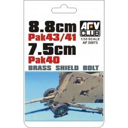 AF35073 AFV Boulons Laiton PAK43 1/35