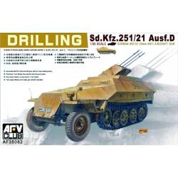 AF35082 AFV Sd.Kfz.251-21 Ausf.D. 1/35