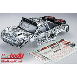 KBD48062 Carrosserie - 1/10 Short Course - Scale - Finie - Box - Monster - Tattoo Graphics Associated Short Course Trucks