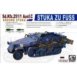 AF35091 AFV Sd.Kfz.251/1 C StukaZuFuss 1/35