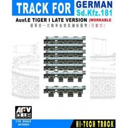 AF35093 AFV Track Tiger I Late (Work.) 1/35