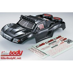 KBD48070 Carrosserie - 1/10 Short Course - Scale - Finie - Box - Monster - Carbone Fiber Graphics Associated Short Course Tru