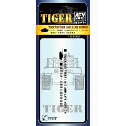 AF35114 AFV Track for Tiger I Mid&Late 1/35