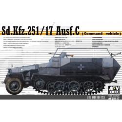 AF35117 AFV Sd.Kfz.251/17 Ausf.C 1/35